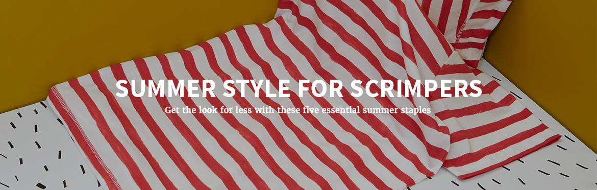 Summer Style For Scrimpers