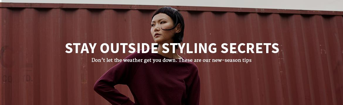 Styling Secrets to Stay Outside