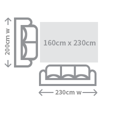 Size Guide Rug Small Size Illustration