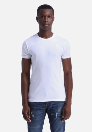 G-Star RAW Basic T-Shirt 2 Pack  White