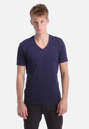 G-Star RAW V-Neck 2 Pack T-Shirts & Vests Shade