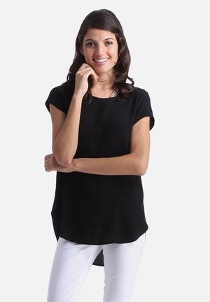 Vero Moda Boca Top Blouses Black