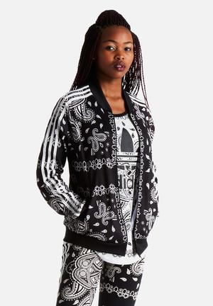 Paisley Track Top