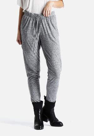VILA Sino Jersey Pants Trousers Light Grey