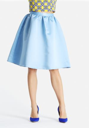 Glamorous Sandy Skirt Light Blue