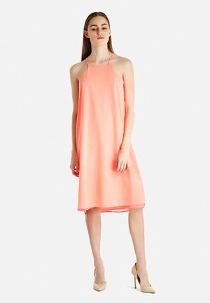Glamorous Cocktail Dress Casual Coral