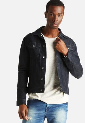Only & Sons Risa Jacket Dark Blue Rinse