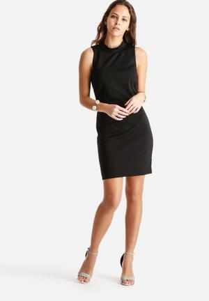 Vero Moda Bobby Funnel Short Dress Casual Black