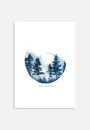 Claudia Liebenberg Shades Of Winter 2 Art