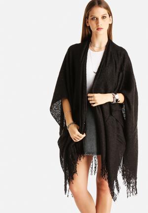 Vero Moda Dagmar Cape Scarves Black