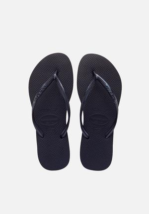 Havaianas Women's Slim Sandals & Flip Flops Black