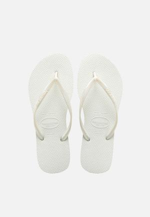 Havaianas Women's Slim Sandals & Flip Flops White