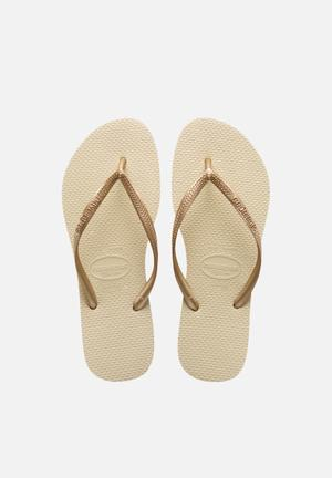Havaianas Women's Slim Sandals & Flip Flops Sand Grey