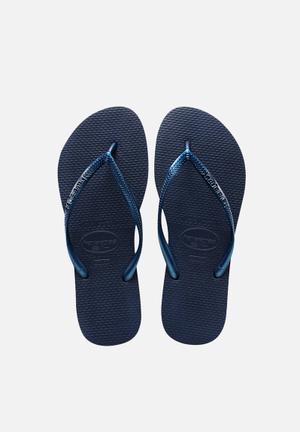 Havaianas Women's Slim Sandals & Flip Flops Navy