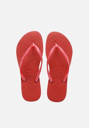 Havaianas Slim Sandals & Flip Flops Red