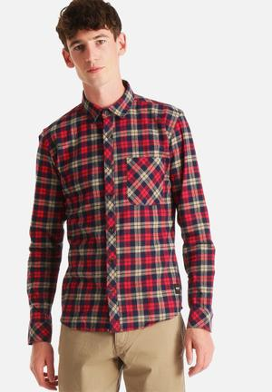 Only & Sons Carstem Shirt Deep Claret
