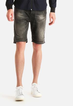 Only & Sons AVI Shorts Light Grey Denim