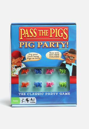 Pass The Pigs Pass The Pigs Party Edition Games & Puzzles