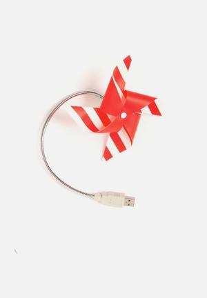 Mustard  Fan-tastic Desk Fan Phone Accessories & USBs