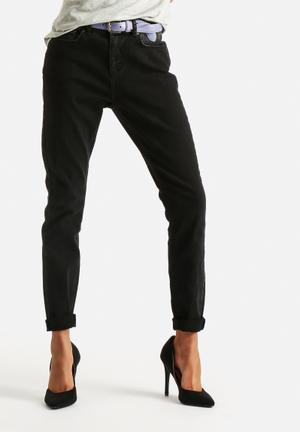 Selected Femme Roxy Boyfriend Jeans Black
