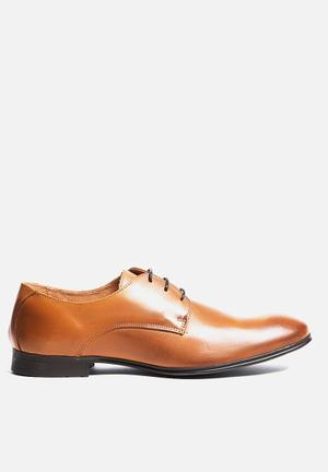 Jack & Jones Footwear & Accessories Kingsland Leather Dress Shoe Cognac