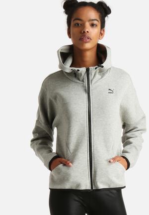 PUMA Zip Hoody Grey