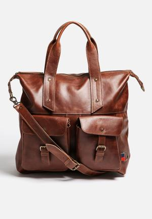 FSP Collection Darren Travel Bag  Brown