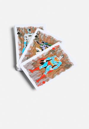 Waddingtons Playing Cards - DC Superheroes Retro Games & Puzzles