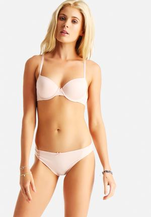 Marie Meili Miu 2 Pk Brief Panties Panty 1: Pink Panty 2: Light Pink
