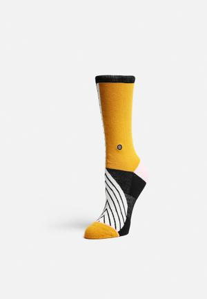 Stance Socks Noir Stockings & Socks Black And Gold
