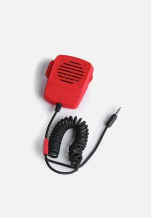 DCI Walkie Talkie Handset Audio Red