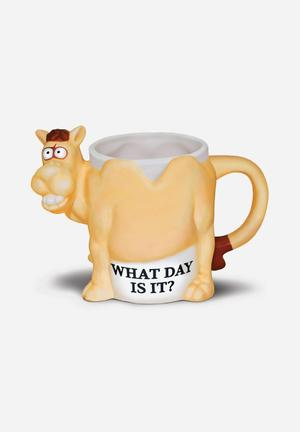 Big Mouth What Day Is It Mug Ceramic