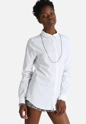 Selected Femme Romie Shirt White