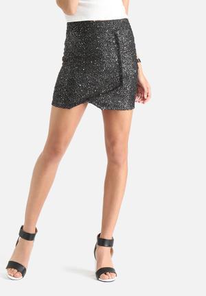 Vero Moda Monia Short Skirt Black