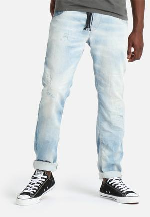 Jack & Jones Jeans Intelligence Mike Jogger Denims Jeans Light Blue