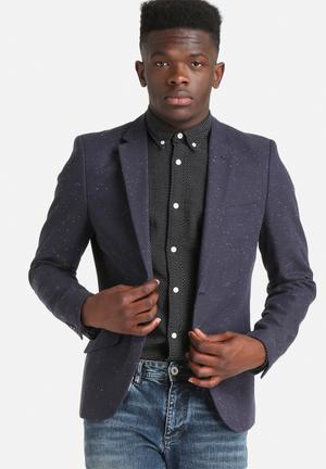 Only & Sons Taylan Blazer Jackets & Coats Navy Blazer
