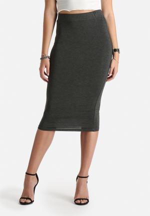 Dailyfriday Tracy Tube Skirt Grey