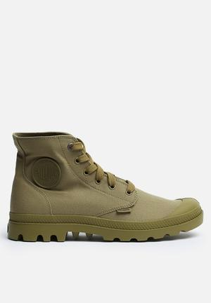 Palladium Mono Chrome Boots Sage