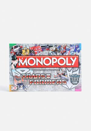 Hasbro Transformers Retro Monopoly Games & Puzzles