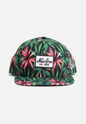 New Era 950 Original Fit Headwear Green / Pink /  Black