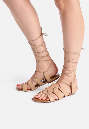 Lilly's Closet Emily Sandals & Flip Flops Tan