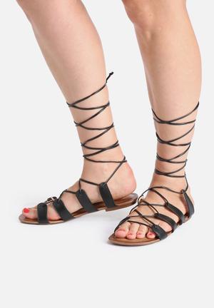 Lilly's Closet Emily Sandals & Flip Flops Black