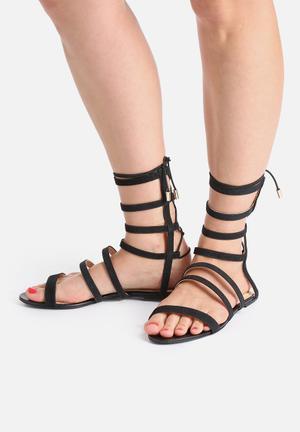 Lilly's Closet Brooke Sandals & Flip Flops Black
