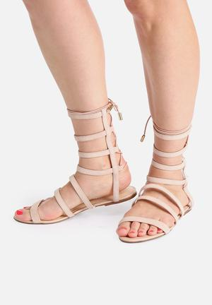 Lilly's Closet Brooke Sandals & Flip Flops Beige