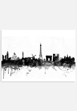 ArtPause Paris France Skyline New 1 Art