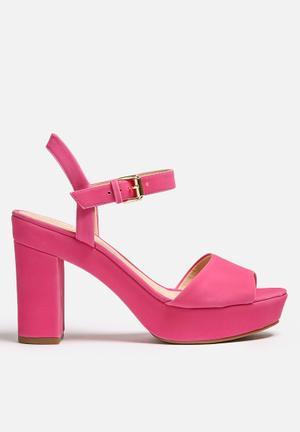 Lilly's Closet Georgia Heels Pink