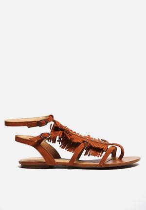 Lilly's Closet Olivia Sandals & Flip Flops Tan