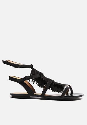 Lilly's Closet Olivia Sandals & Flip Flops Black