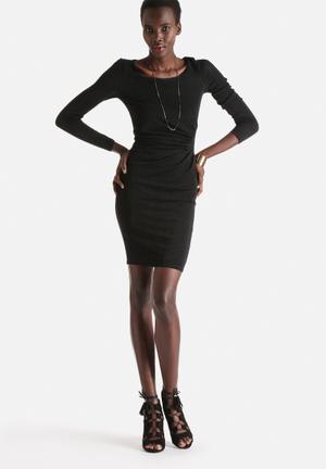 ONLY Glitter Doria Dress Formal Black