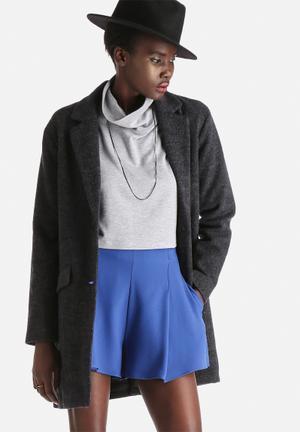 ONLY Karoline Wool Coat Dark Navy